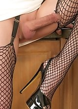 Joanna Jet - Fishnet and MILF