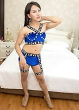 Ladyboy Tou - Ever Hard and Bottomless Bareback